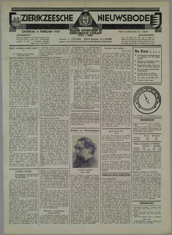 Zierikzeesche Nieuwsbode 1937-02-06