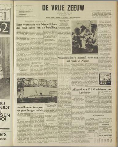 de Vrije Zeeuw 1962-06-21