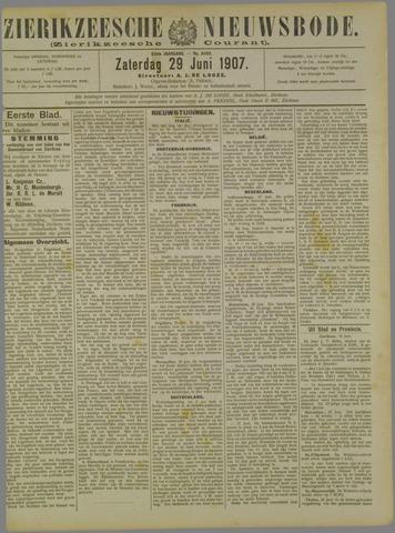 Zierikzeesche Nieuwsbode 1907-06-29