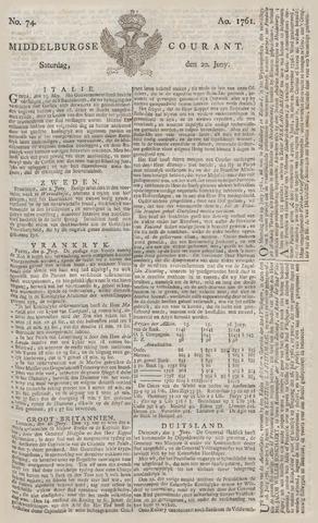 Middelburgsche Courant 1761-06-20