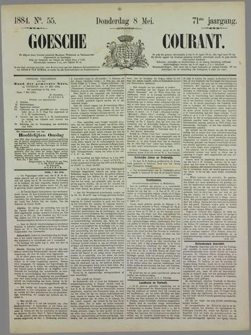 Goessche Courant 1884-05-08