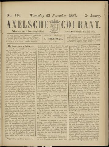 Axelsche Courant 1887-11-23