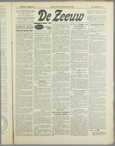 De Zeeuw. Christelijk-historisch nieuwsblad voor Zeeland 1937-01-16
