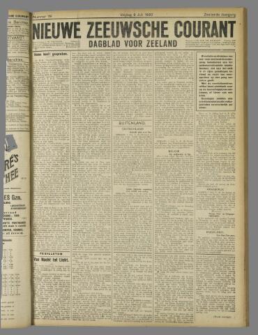 Nieuwe Zeeuwsche Courant 1920-07-09