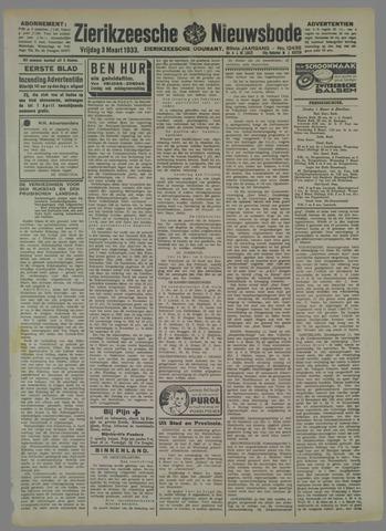 Zierikzeesche Nieuwsbode 1933-03-03