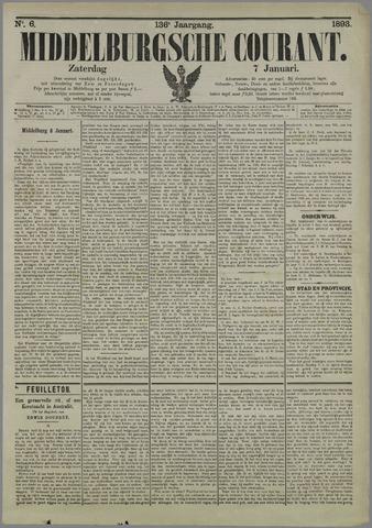 Middelburgsche Courant 1893-01-07