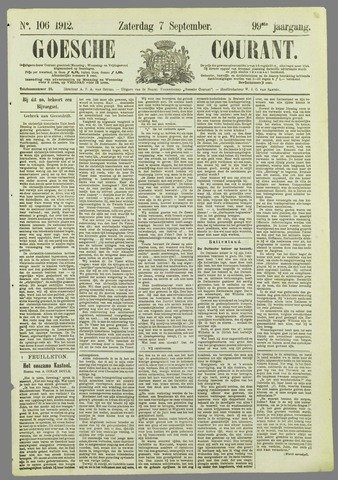 Goessche Courant 1912-09-07
