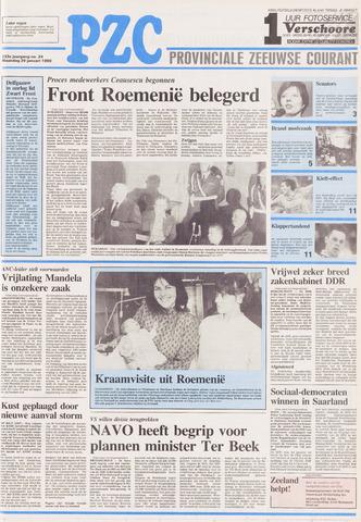 Provinciale Zeeuwse Courant 1990-01-29