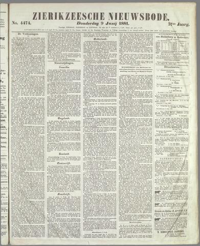 Zierikzeesche Nieuwsbode 1881-06-09