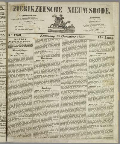 Zierikzeesche Nieuwsbode 1860-12-29