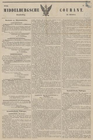 Middelburgsche Courant 1852-10-21