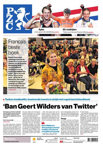Provinciale Zeeuwse Courant 2018-11-05