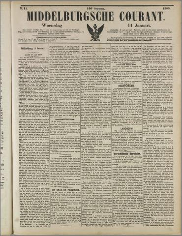 Middelburgsche Courant 1903-01-14