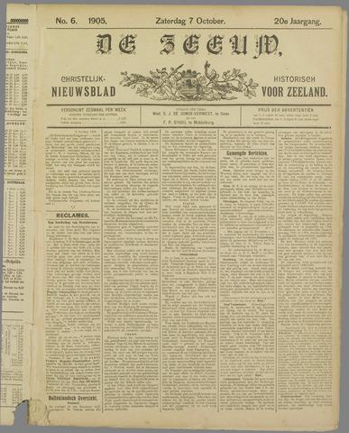 De Zeeuw. Christelijk-historisch nieuwsblad voor Zeeland 1905-10-07