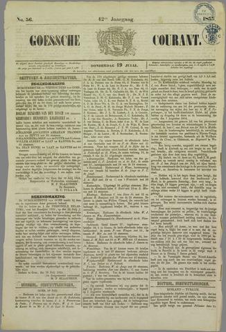 Goessche Courant 1855-07-19