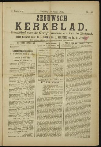 Zeeuwsche kerkbode, weekblad gewijd aan de belangen der gereformeerde kerken/ Zeeuwsch kerkblad 1904-06-10
