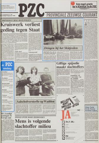 Provinciale Zeeuwse Courant 1988-08-03