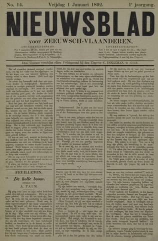 Nieuwsblad voor Zeeuwsch-Vlaanderen 1892-01-01