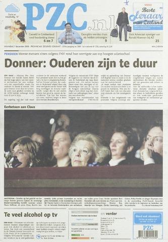 Provinciale Zeeuwse Courant 2009-12-07