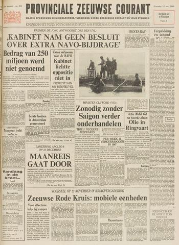 Provinciale Zeeuwse Courant 1968-11-13