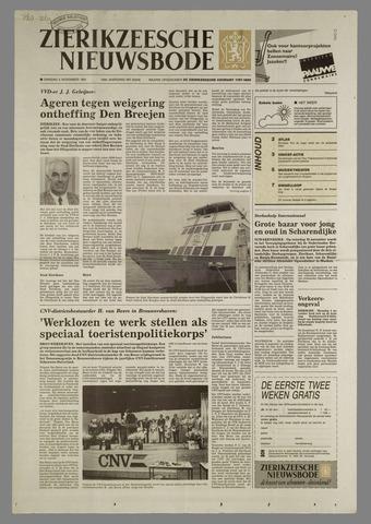 Zierikzeesche Nieuwsbode 1991-11-05