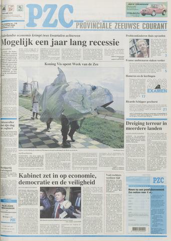 Provinciale Zeeuwse Courant 2003-05-16