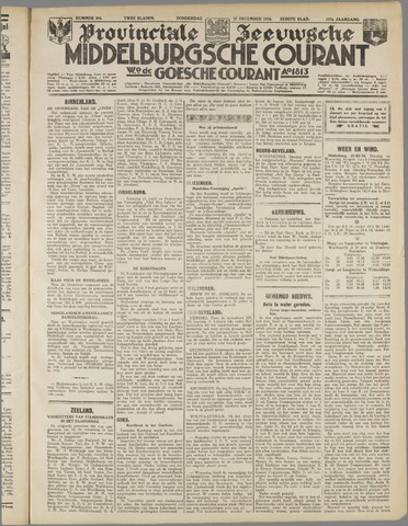 Middelburgsche Courant 1934-12-27