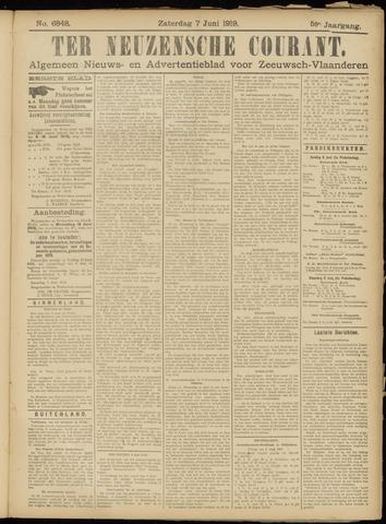 Ter Neuzensche Courant. Algemeen Nieuws- en Advertentieblad voor Zeeuwsch-Vlaanderen / Neuzensche Courant ... (idem) / (Algemeen) nieuws en advertentieblad voor Zeeuwsch-Vlaanderen 1919-06-07