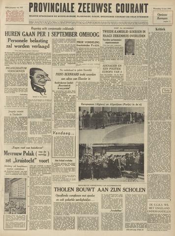 Provinciale Zeeuwse Courant 1962-06-13