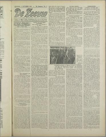 De Zeeuw. Christelijk-historisch nieuwsblad voor Zeeland 1943-10-05