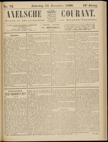 Axelsche Courant 1900-12-15
