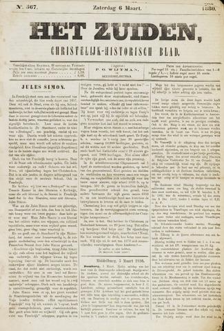 Het Zuiden, Christelijk-historisch blad 1880-03-06