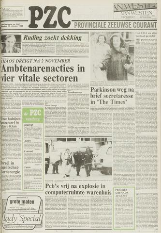 Provinciale Zeeuwse Courant 1983-10-15