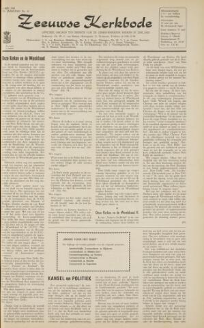 Zeeuwsche kerkbode, weekblad gewijd aan de belangen der gereformeerde kerken/ Zeeuwsch kerkblad 1963-05-03