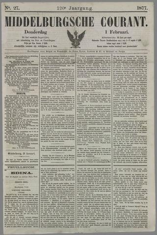 Middelburgsche Courant 1877-02-01