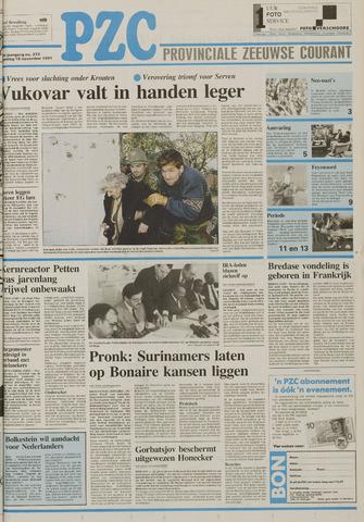 Provinciale Zeeuwse Courant 1991-11-18
