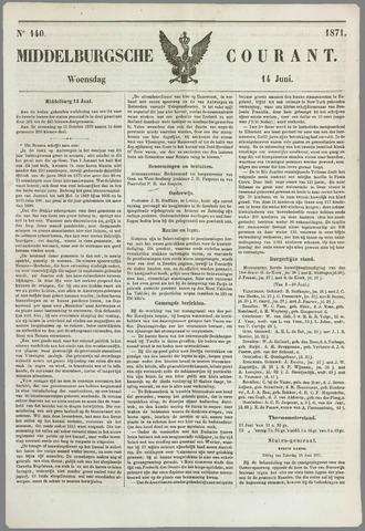 Middelburgsche Courant 1871-06-14