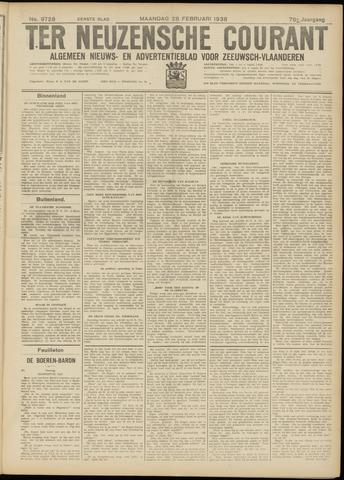 Ter Neuzensche Courant. Algemeen Nieuws- en Advertentieblad voor Zeeuwsch-Vlaanderen / Neuzensche Courant ... (idem) / (Algemeen) nieuws en advertentieblad voor Zeeuwsch-Vlaanderen 1938-02-28