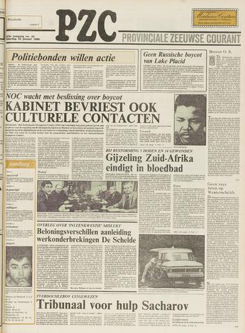 Provinciale Zeeuwse Courant 1980-01-26