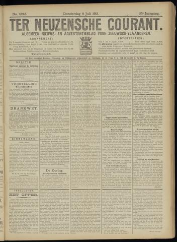 Ter Neuzensche Courant. Algemeen Nieuws- en Advertentieblad voor Zeeuwsch-Vlaanderen / Neuzensche Courant ... (idem) / (Algemeen) nieuws en advertentieblad voor Zeeuwsch-Vlaanderen 1915-07-08