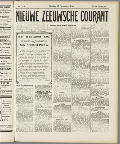 Nieuwe Zeeuwsche Courant 1909-11-16