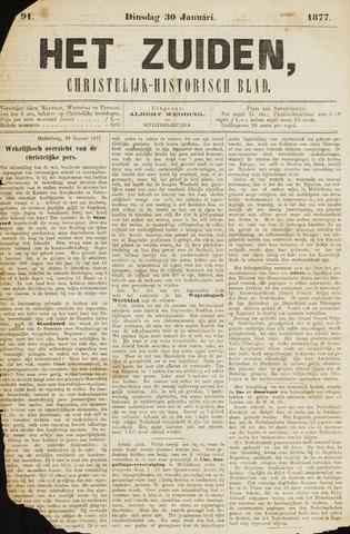 Het Zuiden, Christelijk-historisch blad 1877-01-30