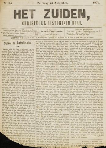 Het Zuiden, Christelijk-historisch blad 1876-11-25