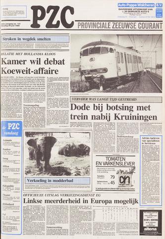Provinciale Zeeuwse Courant 1989-06-20