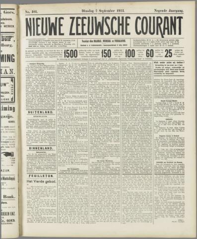 Nieuwe Zeeuwsche Courant 1913-09-02