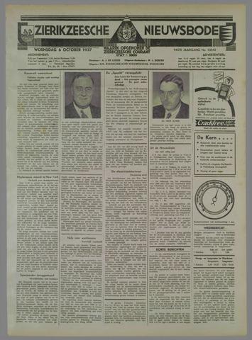 Zierikzeesche Nieuwsbode 1937-10-06