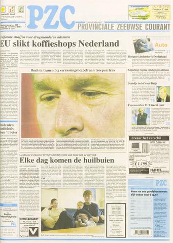 Provinciale Zeeuwse Courant 2003-11-28