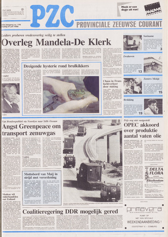 Provinciale Zeeuwse Courant 1990-07-27