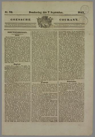 Goessche Courant 1843-09-07