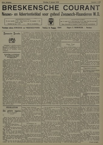 Breskensche Courant 1939-01-17